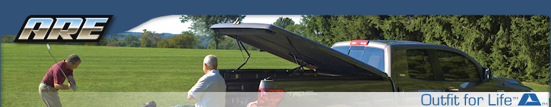 A.R.E. Truck Caps and Tonneau Covers : Manufacturer of Truck Caps, Truck Canopies, Truck Toppers, Camper Shells, Hard Tonneau Covers, Work Caps, Fiberglass Tops, and Truck Accessories.