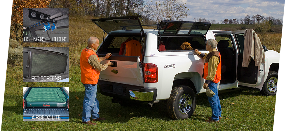 We offer a wide range of accessories to outfit your truck for any lifestyle.