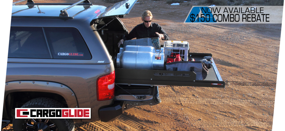 CargoGlide - Get full use of your truck bed with the CargoSlide storage system.