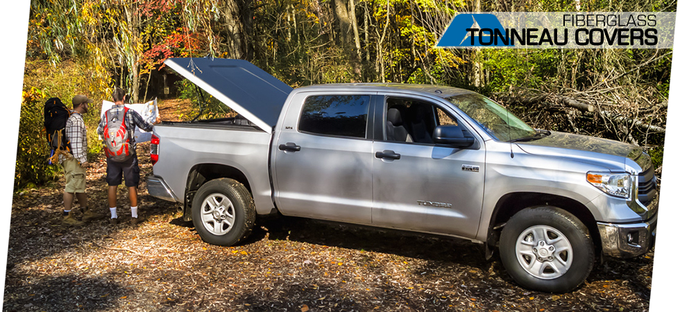 Our full line of tonneau covers provides safe storage, no matter what the adventure.