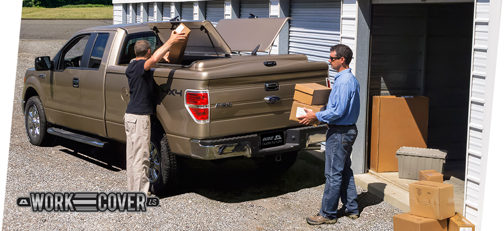 The WorkCover LS provides access to all parts of your truck bed