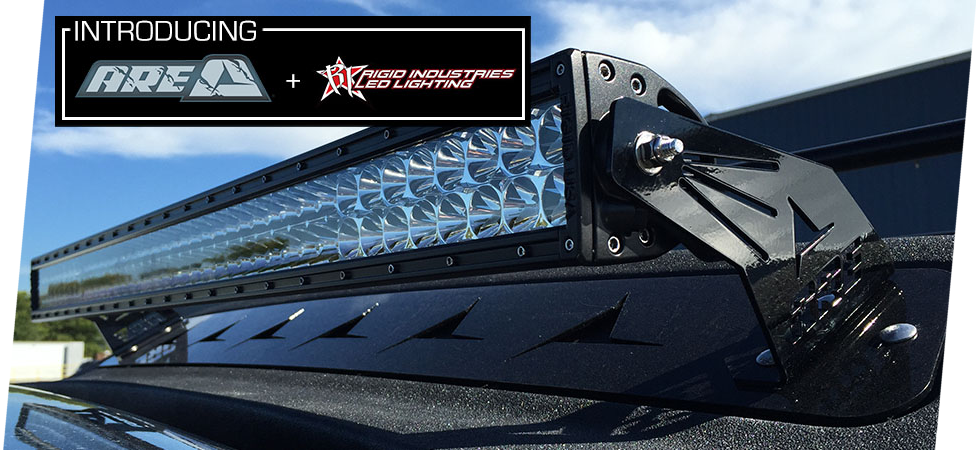 The all new MX Series Rigid Industries Light Bar option.