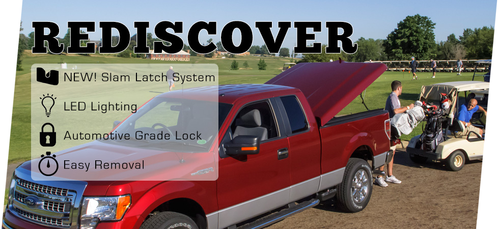Rediscover the benefits and features of our tonneau cover lines.