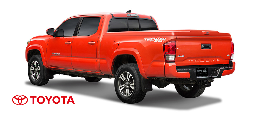 Select models now available for the 2016 Toyota Tacoma.