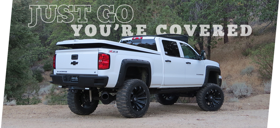 Our full line of fiberglass covers will have you ready for any adventure