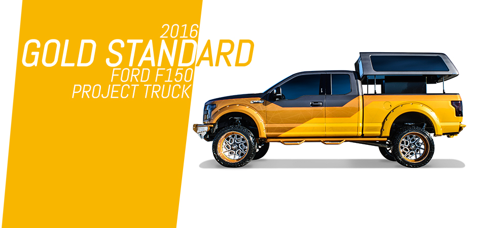 A.R.E.'s 2016 Gold Standard Ford F150 Project Truck.