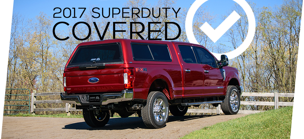 We have the new 2017 Ford Super Duty covered.
