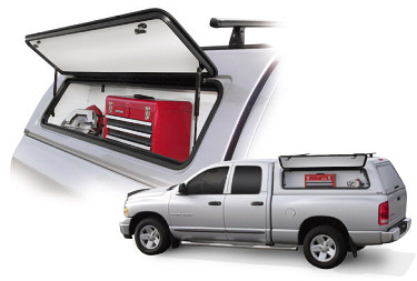 Tool Box For Truck Bed >> Side Toolbox : A.R.E. Truck Caps and Tonneau Covers