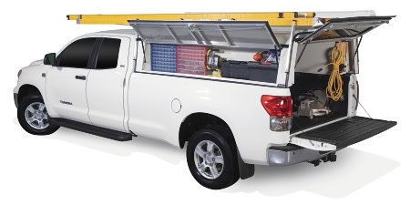 dcu and toyota tundra - deluxe commercial unit series truck caps