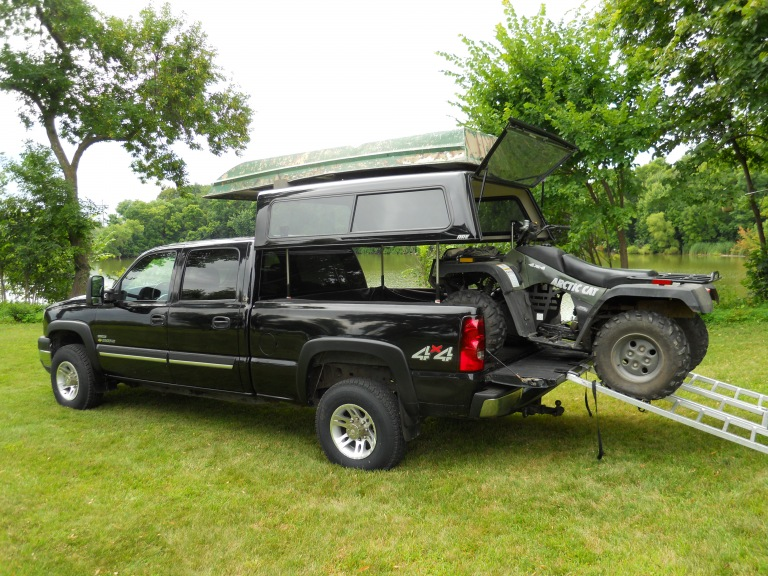 TopperEZLift Gallery ARE Truck Caps and Tonneau Covers