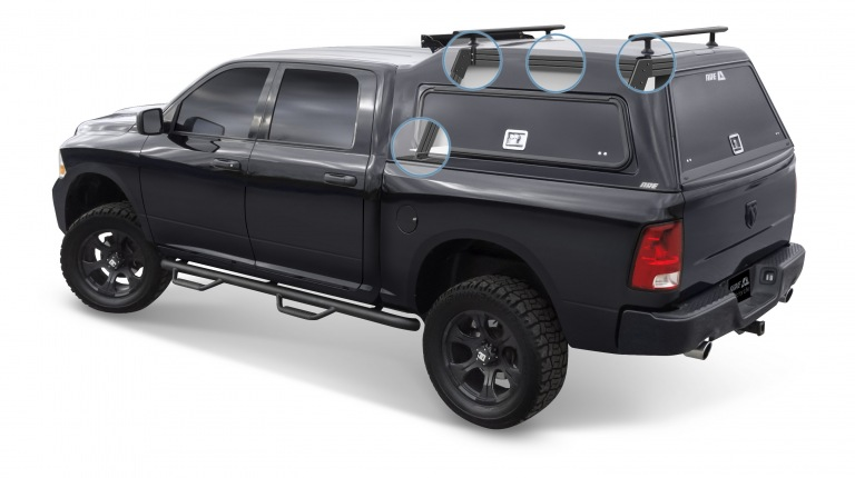 Dodge Dealer Yakima >> HD Series Truck Cap Gallery : A.R.E. Truck Caps and Tonneau Covers