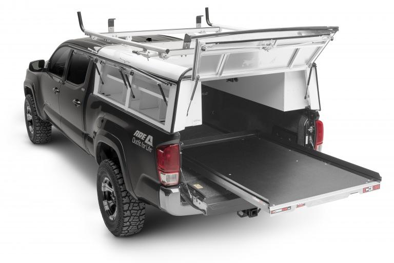 Aluminum Truck Canopy : Gallery commercial aluminum caps a r e truck