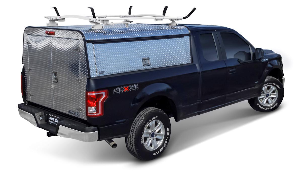 Aluminum Truck Canopy : Commercial aluminum caps a r e truck